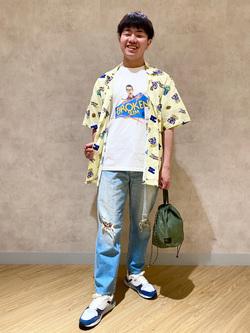 錦糸町PARCO店(閉店)のつなさんのEDWINの【EDWIN 60周年限定】 半袖シャツを使ったコーディネート