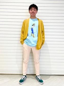 錦糸町PARCO店のつなさんのEDWINの【直営店限定】ジーパン女子 x 江口寿史 Tシャツ 【ユニセックス】を使ったコーディネート