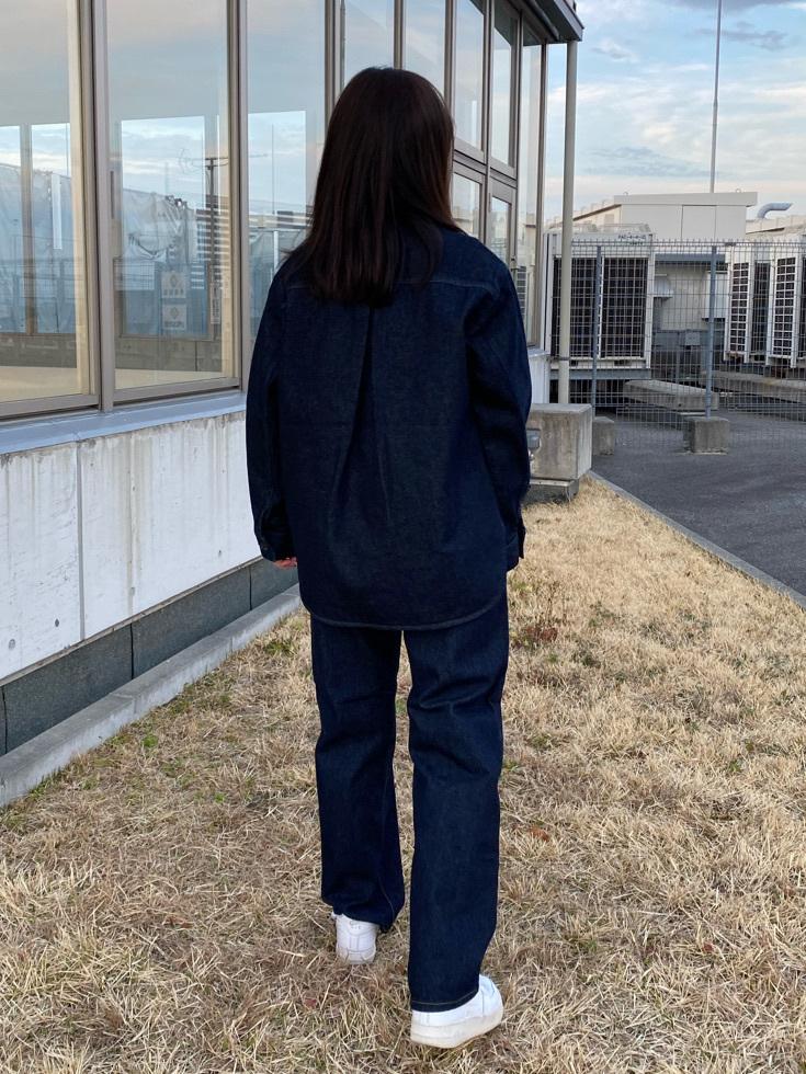 西宮ガーデンズ店のMiriさんのLeeの【otonaMUSE掲載】【毎日履きたい】ボーイズストレートパンツを使ったコーディネート