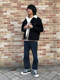 アミュプラザおおいた店のRyutaさんのLeeのBOA STORM RIDER ジャケット【コーデュロイ】を使ったコーディネート