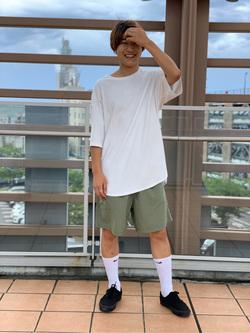 ららぽーと横浜のDaisukeさんのLeeの終了【再値下げ!サマーセール】エンブロイダリーTシャツを使ったコーディネート