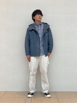 ららぽーと横浜のDaisukeさんのLeeのマウンテンパーカー/ジャケットを使ったコーディネート