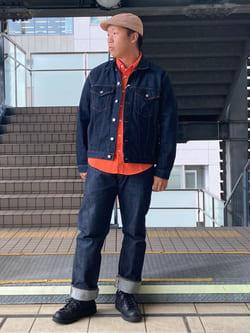 DENIM GALAXY日暮里店のTOMMYさんのEDWINのデニム ジャケットを使ったコーディネート
