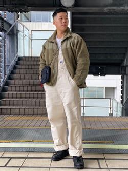 DENIM GALAXY日暮里店のTOMMYさんのALPHAのLEVEL3 GEN2 フリースジャケットを使ったコーディネート