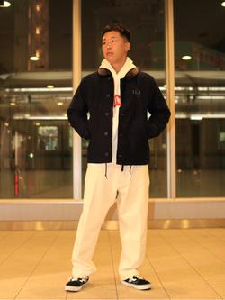 DENIM GALAXY日暮里店のTOMMYさんののN-1 デッキジャケットを使ったコーディネート