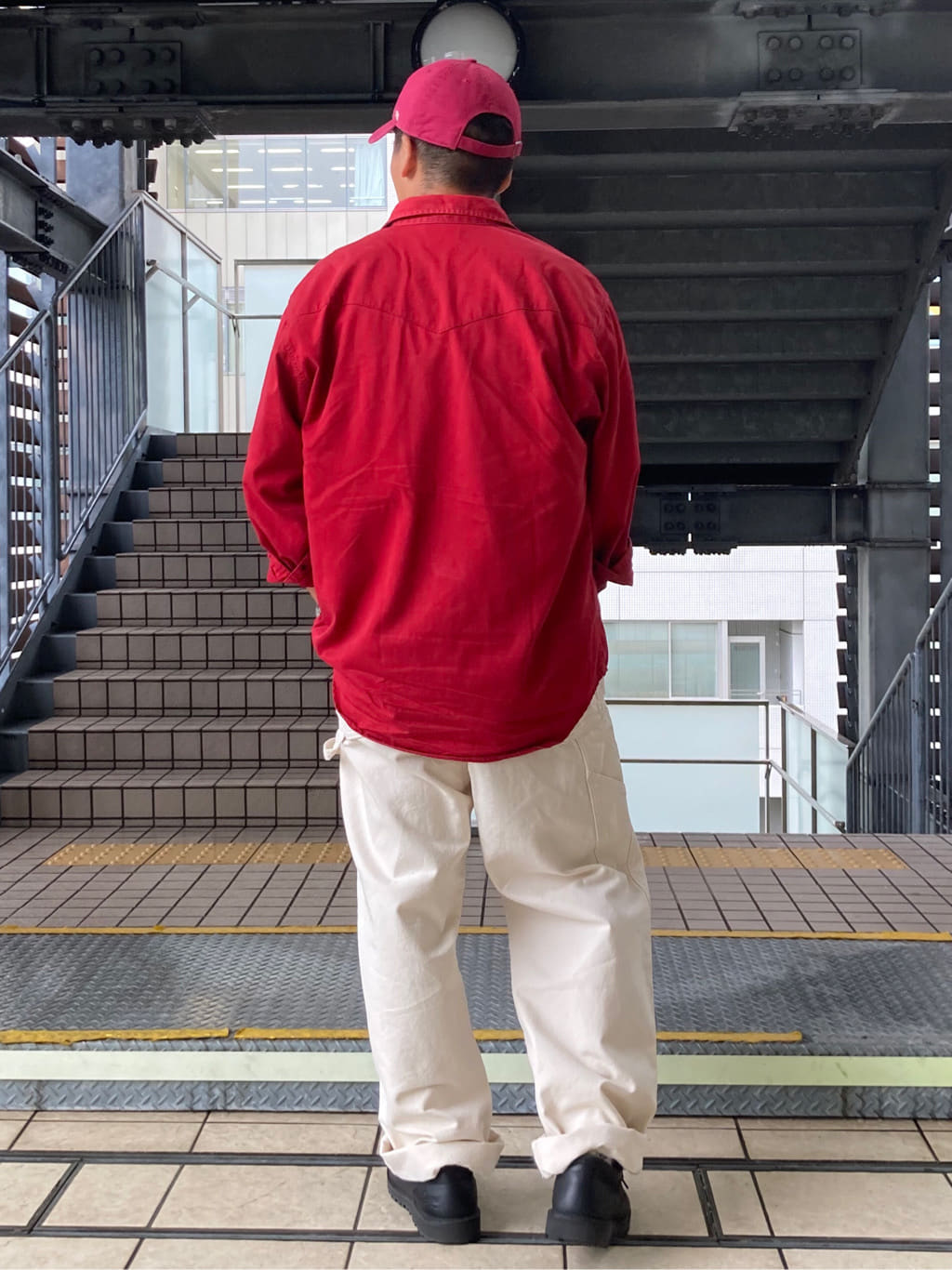 DENIM GALAXY日暮里店のTOMMYさんのEDWINの【直営店限定】オーバーオール【ユニセックス】を使ったコーディネート
