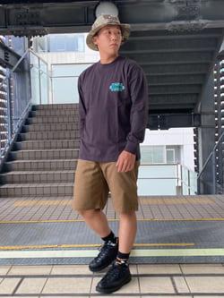 DENIM GALAXY日暮里店のTOMMYさんのEDWINの【ユニセックス】EDWIN x Supermundane アーティストコラボTシャツを使ったコーディネート