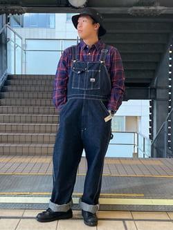 DENIM GALAXY日暮里店のTOMMYさんのEDWINのレギュラーシャツ 長袖(チェック)を使ったコーディネート