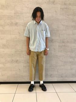 タナカトモヤのスタイリング