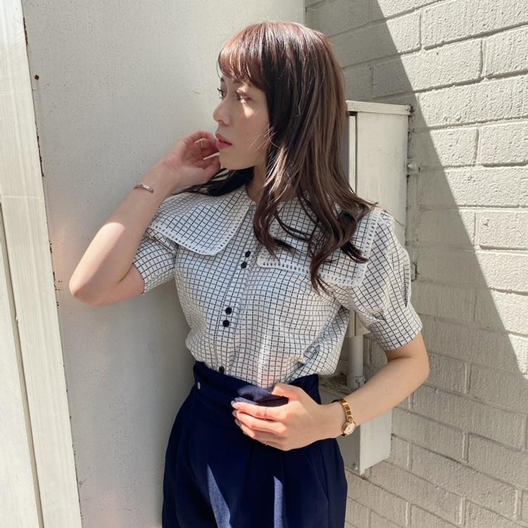オリジナルリゾートプリントチェールスカート