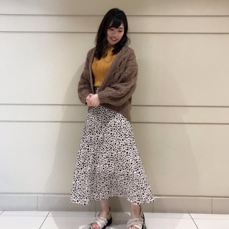 クラシカルガーデンパネルナロースカート