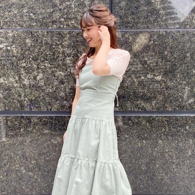 クリスタル楊柳プリーツスカート