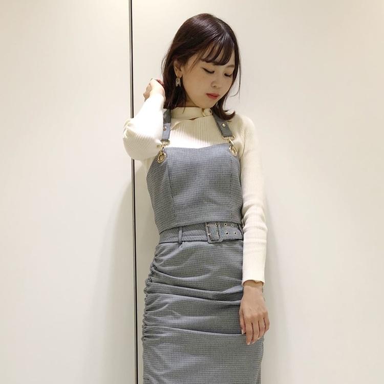 コーデュロイデザインマーメイドスカート