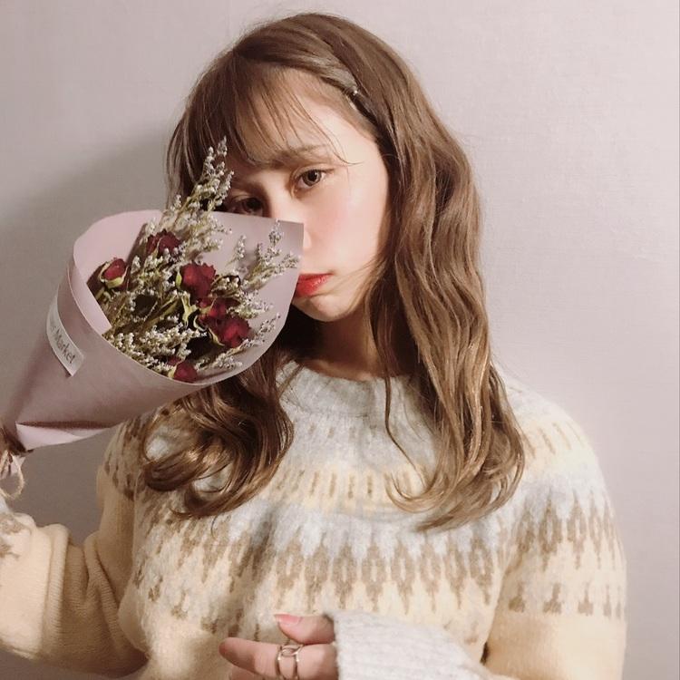 花柄プリントギャザーシャツワンピース